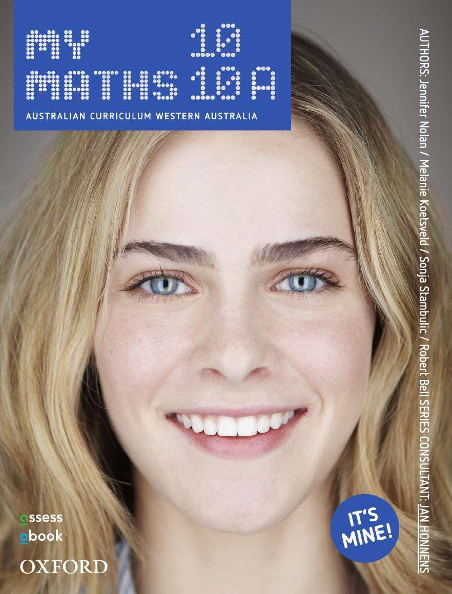 Oxford MyMaths 10 Western Australian Curriculum Student book + obook assess