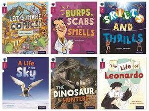 Oxford Reading Tree inFact: Level 10: Mixed Pack of 6