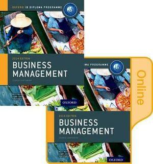 IB Business Management Print and Online Course Book Pack