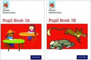 Nelson Handwriting: Year 1/Primary 2 Pupil Book 1A and 1B Pack of 30