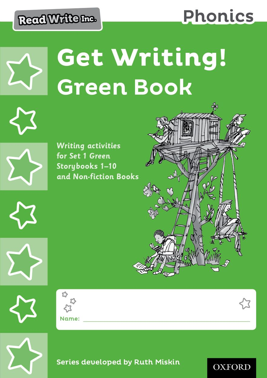 Read Write Inc Phonics: Get Writing! Green Book Pack of 10