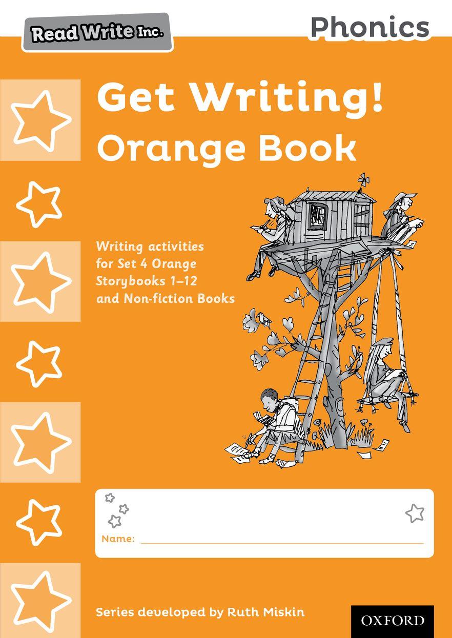 Read Write Inc Phonics: Get Writing! Orange Book Pack of 10