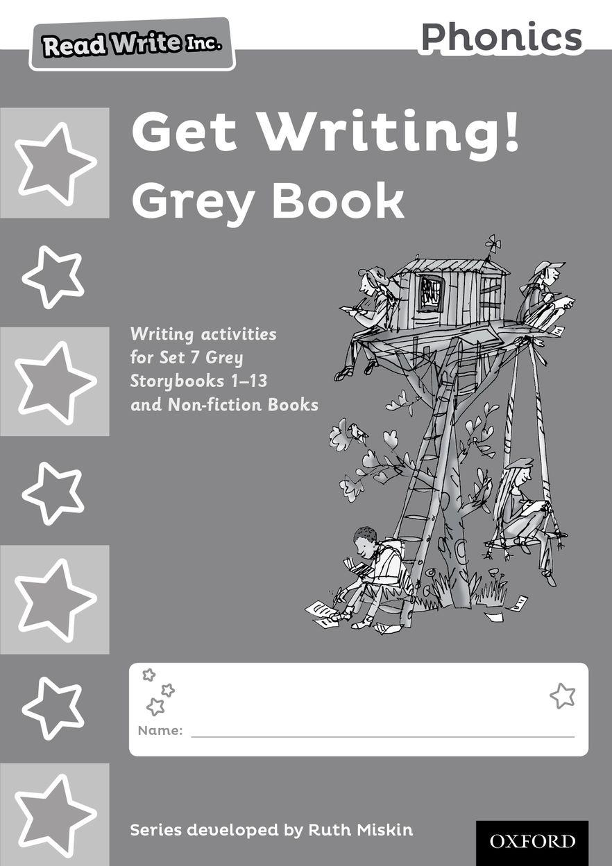 Read Write Inc Phonics: Get Writing! Grey Book Pack of 10