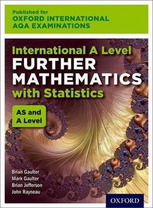 International A Level Further Mathematics for Oxford International