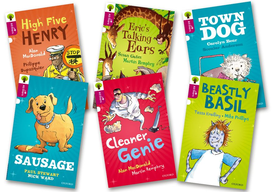 Oxford Reading Tree All Stars: Oxford Level 10 All Stars Pack 2a Pack of 6