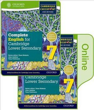Complete English for Cambridge Secondary 1 Print and Online Student Book Pack 7