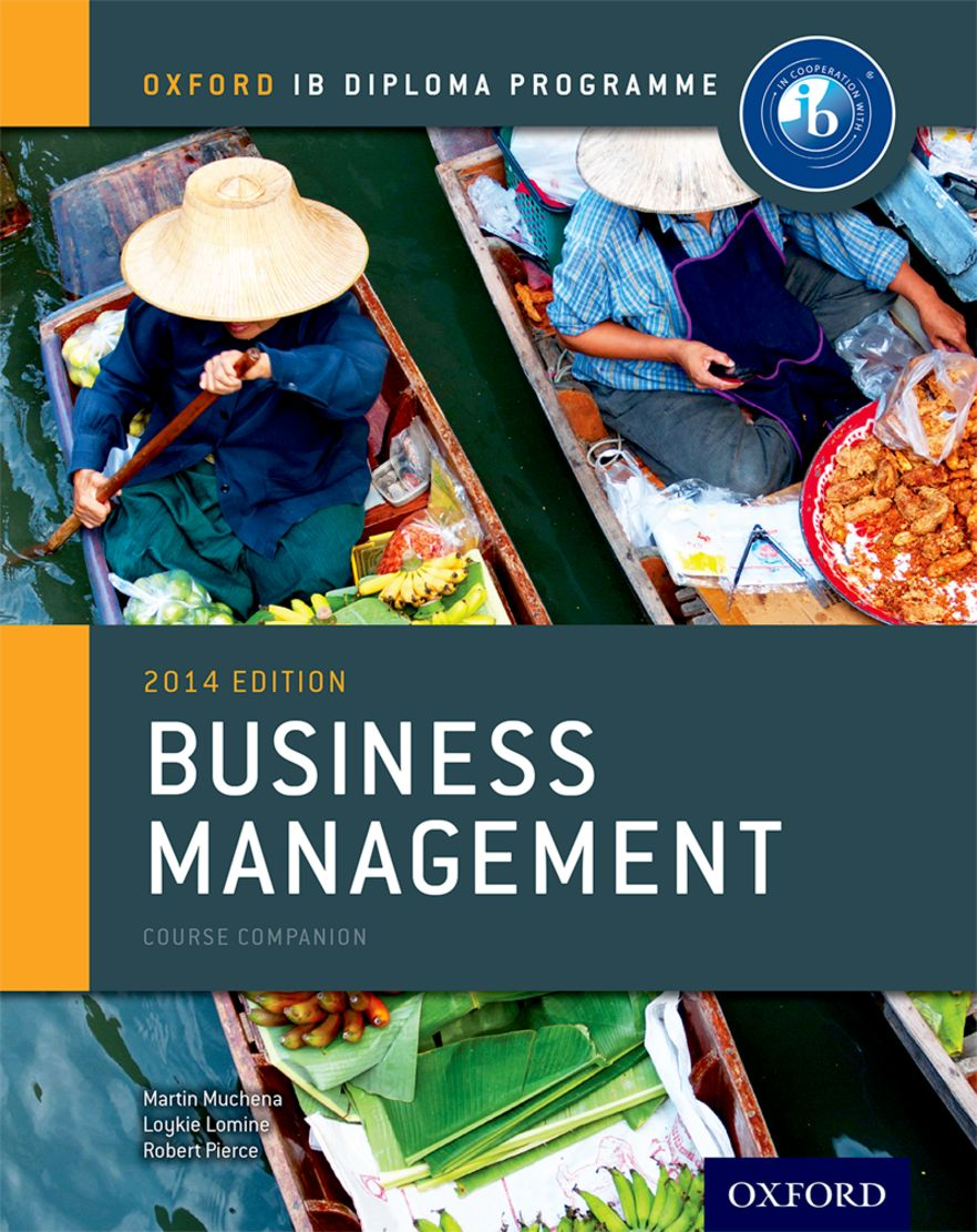 IB Course Book: Business Management 2014