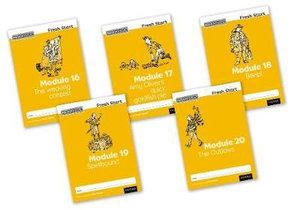 Read Write Inc Fresh Start Modules 16-20 Pack of 5