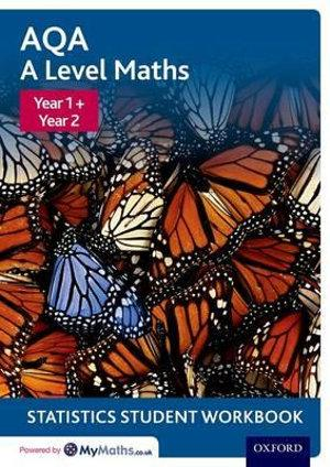AQA A Level Maths Year 1 + Year 2 Statistics Student Workbook Pack of 10
