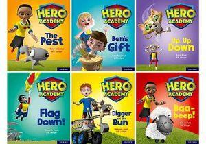 Hero Academy: Oxford Level 4, Letters and Sounds Phase 4