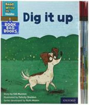 Read Write Inc Phonics: Red Ditty Book Bag Books Mixed Pack of 10