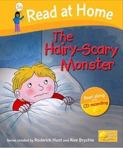 Read At Home Level 5A The Hairy-Scary Monster Book and CD