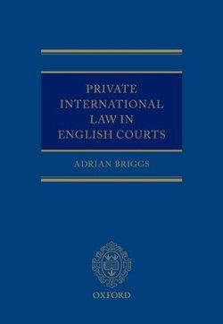 Private International Law in the English Courts