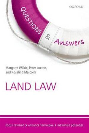Questions and Answers Land Law 2015-2016