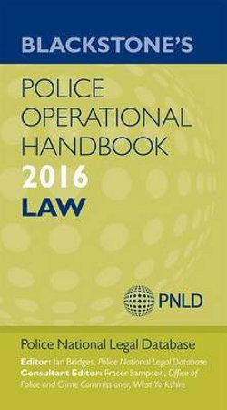 Blackstone's Police Operational Handbook 2016