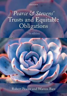 Pearce & Stevens' Trusts and Equitable Obligations
