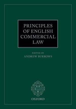 Principles of English Commercial Law