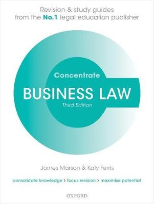Business Law Concentrate Law Revision and Study Guide