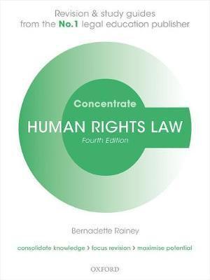 Human Rights Law Concentrate Law Revision and Study Guide