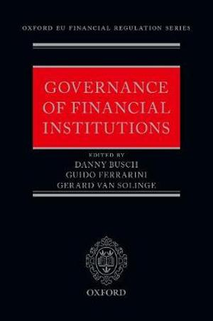 Governance of Financial Institutions