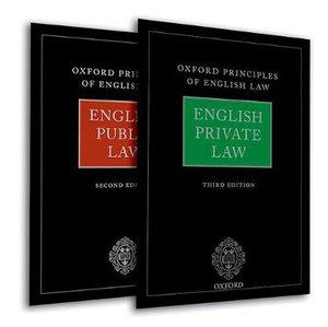 Oxford Principles of English Law : English Private Law (3rd edition) and