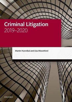 Criminal Litigation 2019-2020