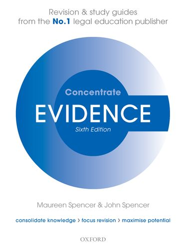 Evidence Concentrate Law