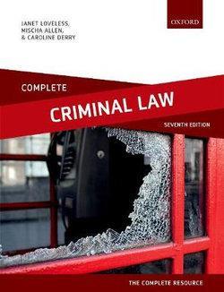 Complete Criminal Law