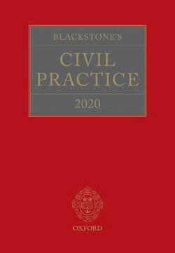 Blackstone's Civil Practice 2020