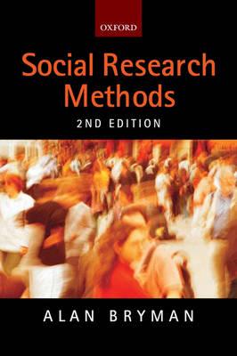 Bryman social methods ebook research alan