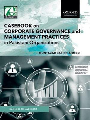 Casebook on Corporate Governance and Management