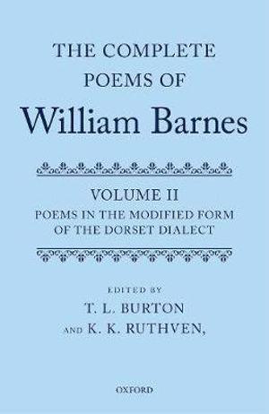 Complete Poems of William Barnes Volume 2