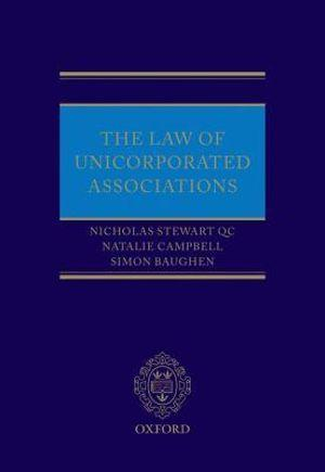 The Law of Unincorporated Associations