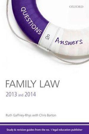 Questions & Answers Family Law 2013 and 2014