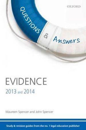 Questions & Answers Evidence 2013 and 2014