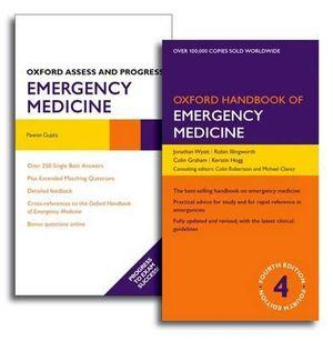 Oxford Handbook of Emergency Medicine and Oxford Assess and Progress