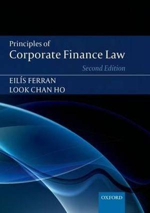 Principles of Corporate Finance Law
