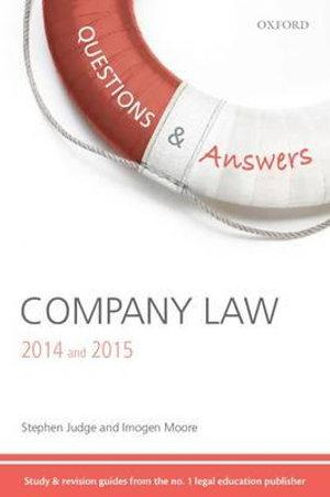 Questions and Answers Company Law 2014 and 2015