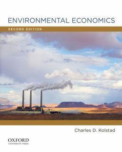 Environmental Economics 2nd Edition