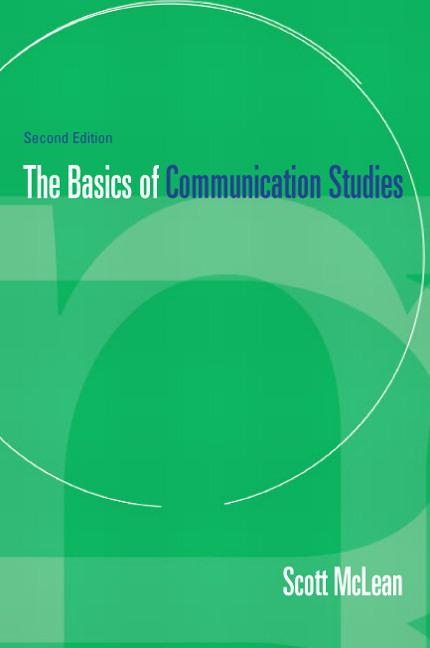 Basics of Communication Studies