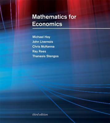 Mathematics for Economics 3ed