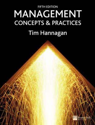 Management: Concepts & Practices