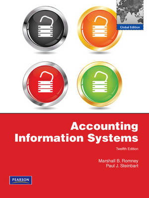 Accounting Information Systems: Global Edition