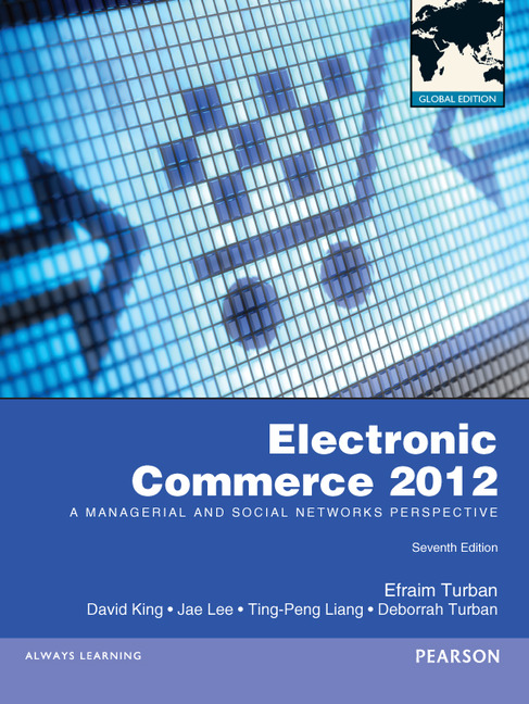 Electronic Commerce 2012, Global Edition