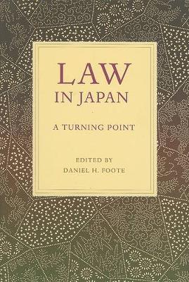 Law in Japan: A Turning Point