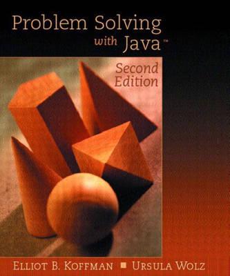 Problem Solving with Java: Problem Solving with Java, Update Update