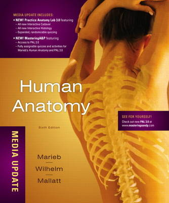 Human Anatomy 6E, Media Update Plus MasteringA&P with eText