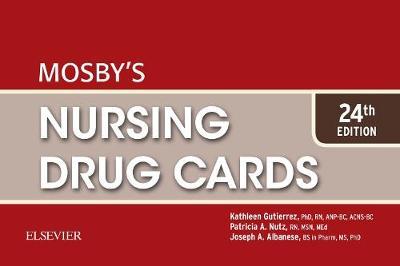 Mosby's Nursing Drug Cards 24E