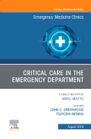 Critical Care in the Emergency Department, An Issue of Emergency Medicine Clinics of North America