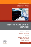 Intensive Care Unit in Disaster,An Issue of Critical Care Clinics